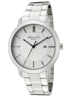 Kenneth Cole KC3906 Watches,Mens Light Silver Dial Stainless Steel