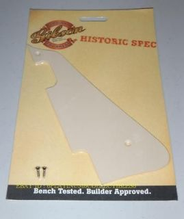 Gibson Historic 1956 Pickguard Creme Guitar Parts Les Paul Deluxe