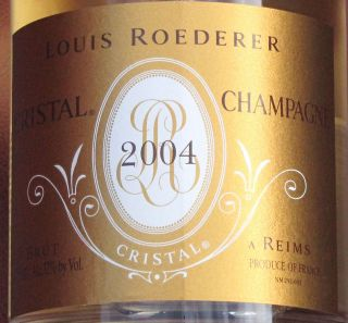 2004 Roederer Cristal Champagne France 97 POINTS RP