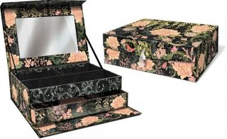 jewelry box mirrored in Jewelry Boxes