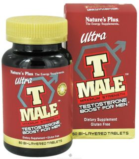 Buy Natures Plus   Ultra T Male Maximum Strength Testosterone Booster