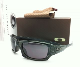 Authentic Oakley Sunglasses FIVES SQUARED 03 441 Grey Smoke w/ Warm