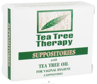 Buy Tea Tree Therapy   Suppositories with Tea Tree Oil   6 Pack(s) at