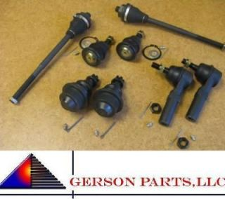 GMC Kit Upper & Lower Ball Joints Inner & Outer Tie Rods Front End