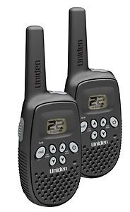 Uniden GMR1636 2CK 16 mile 2 pack FRS / GMRS Radios Headset compatible