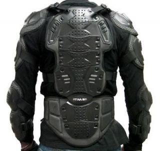 Motorcycle Full Body Armor Spine Back Chest Shoulder Protector MX