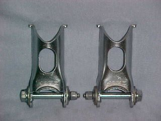 87 88 HARO FOLD UP / DOWN FORK STANDS Old School BMX Pegs Platforms