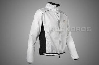 Tour de France, Cycling Coat, Wind Coat, Rain Coat, Long Sleeve, White