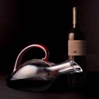 Riedel Eisch Duck Decanter With Red Handle