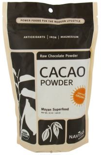 Navitas Naturals   Cacao Power Raw Powder Certified Organic Chocolate