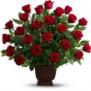 Tierno Homenaje de Teleflora Flores , Arreglo Floral Homenaje con