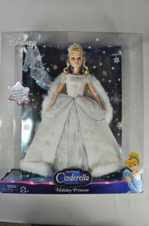 NEW NIB BARBIE WALT DISNEY CINDERELLA HOLIDAY PRINCESS SHOE TREE