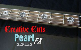 Blink 182 Mark Hoppus BLACK PEARL AND MOP Custom Vinyl Decal Bass