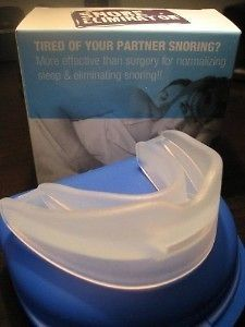 STOP SNORING & SLEEP APNEA W/ SNORE ELIMINATOR MOUTHPIECE SOLUTION