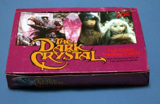 The Dark Crystal Trading Cards Wax Box of 36 Wack Packs Jim Hensen