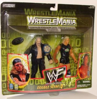 TRIPLE H & BILLY GUNN WRESTLEMANIA 2000 WWE WWF D GENERATION X FIGURES