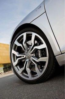 18 Audi R8 Style Wheels Gunmetal Machine Rims A4 FWD Quattro