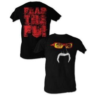 Hulk Hogan Hulkamania Fear The Fu Lightweight Adult T Shirt S XXL New