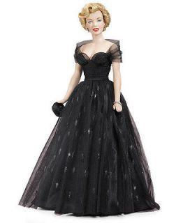 Franklin Mint  Marilyn Monroe Vinyl Doll Awards Night *Brand New
