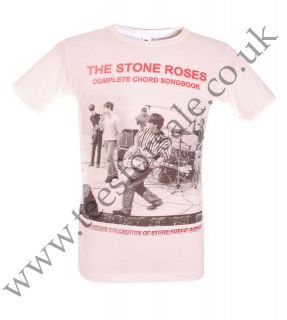The Stone Roses Ian Brown Songbook Tshirt UK SELLER