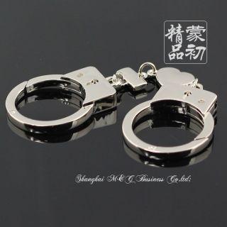 Fashion Romantic Love Handcuffs Keychain Key Chain Ring Keyring Key