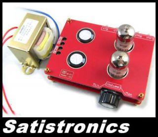 HIFI stereo audio amplifier 6N3 Tube PRE AMP Buffer