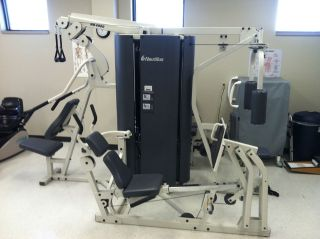 NS4000 Home Gym Multi station Strength System 4 station Commercial