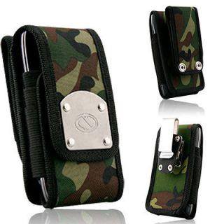 Camo Rugged Strong Steel Clip Duty Belt Case for Motorola Defy XT