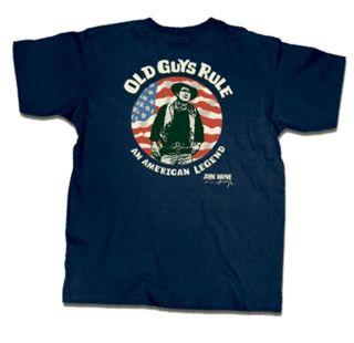 Old Guys Rule T shirt John Wayne Am. Legend