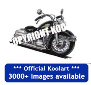 Koolart Harley Davidson Electra Glide Fridge Magnet personalised gift
