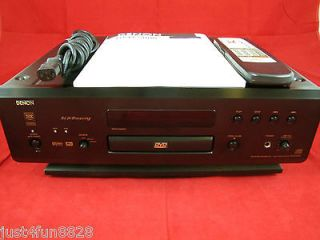 Denon DVD 5000 Video + High End HDCD AL24 Audio CD Player.