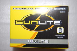 SUNLITE PREMIUM Bicycle Bike BMX Inner TUBE 18 x 1.75