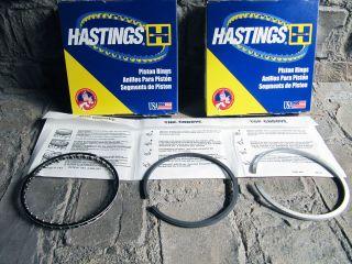 Hastings Piston Rings HATZ E85 FG FL G Type TL10 2C7297