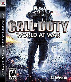 Call of Duty World at War (Sony Playstation 3, 2008)
