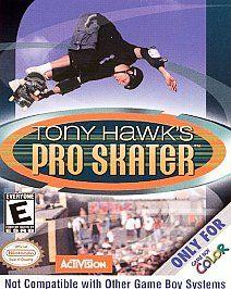 Tony Hawks Pro Skater Nintendo Game Boy Color, 2000