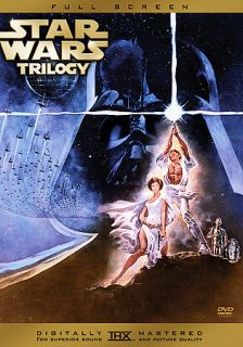 Star Wars Trilogy DVD, 2005, 3 Disc Set, Full Frame Limited Edition