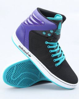 official photos 195f6 79ff3 ... New Adidas Originals adi High EXT Black Purple Shoes Trainers ...