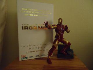 Iron Man Fine Art Statue by Kotobukiya Collection