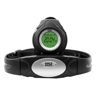 New Pyle PHRM38BK Heart Rate Monitor Watch W/ Calorie Counter & Target