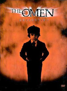 The Omen The Complete Collection DVD, 2000, 4 Disc Set, Special