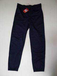 Boys Size M(10 12) L(14 16) XL(18 20) Navy Blue Baseball Pants NEW