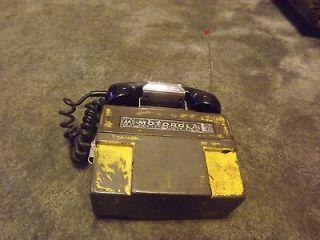 Vintage Motorola PX 300 S Handie Talkie FM Radio