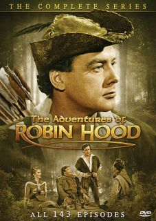 The Adventures of Robin Hood The Complete Series DVD, 2009, 11 Disc