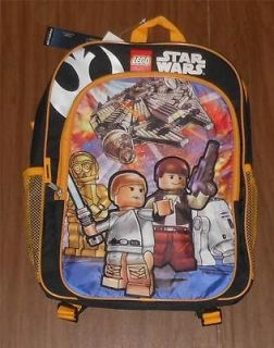 WARS LEGO BACKPACK 16 x 12 x 4 LEGO STAR WARS BACKPACK 2 MESH POCKETS