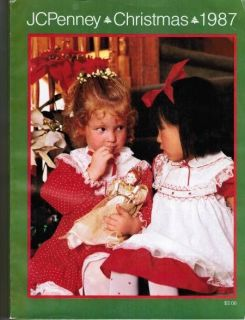 Vintage 1987 JC PENNEY CHRISTMAS Catalog ~ X Generation Kids