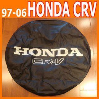 97~06 HONDA CRV SPARE TIRE COVER 215/65R16 CR V 27 LEATHER WHEEL TYRE