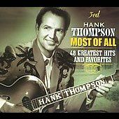 Most of All 48 Greatest Hits and Favorites Box by Hank Thompson CD