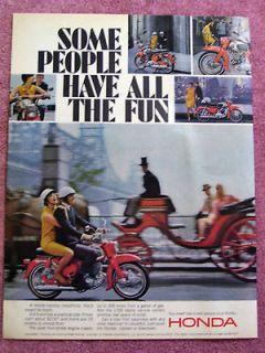 1966 honda motorcycles