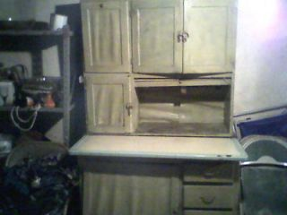 Antique hoosier cabinet, built in flour bin and sifter, Phila., PA