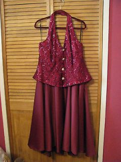 DAVE & JOHNNY Womens Prom, Evening, Formal, Cruise Dress Size 20